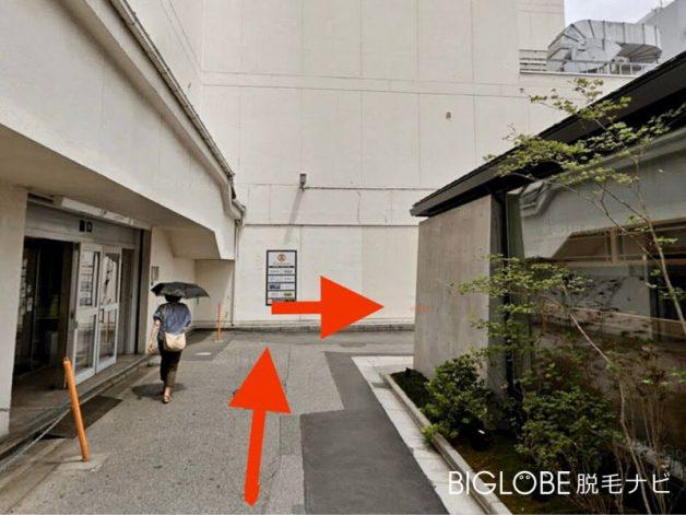 銀座カラー大宮店アクセス3
