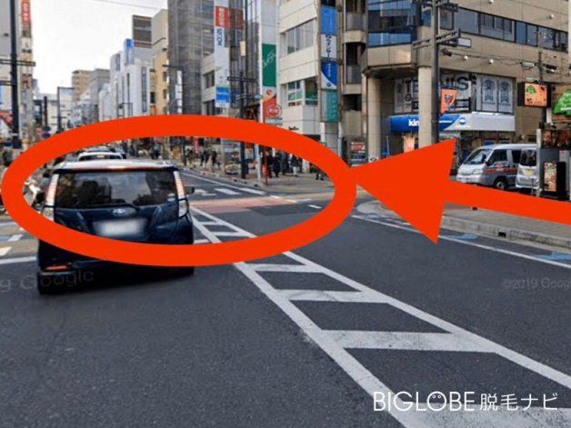 銀座カラー大宮店アクセス6
