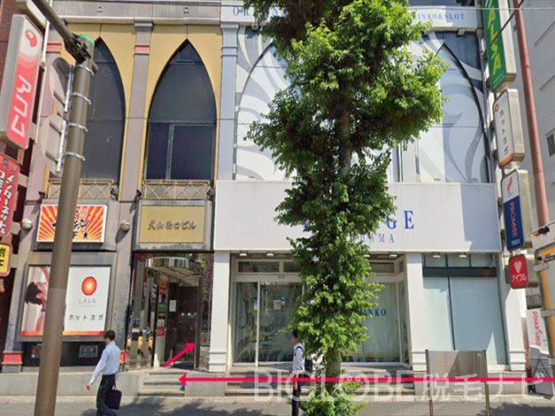銀座カラー 横浜西口店 行き方