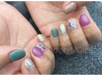 【nail】colorful pop 初8,600円