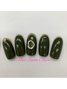 Nail salon Claire 細フレンチ