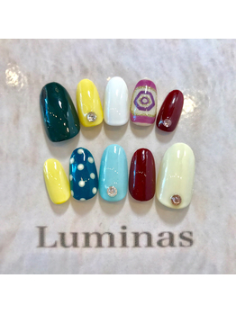 naildesign sample☆チップ