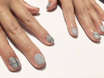 [nail]Casual Line Art 初¥6800