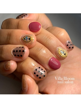 villa bloom nail salon