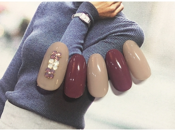 NEW AUTUMN NAIL7900円