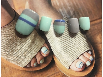 NEW autumn FOOT NAIL8640円