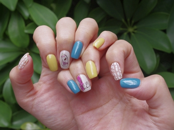 【nail】popart 初7,880