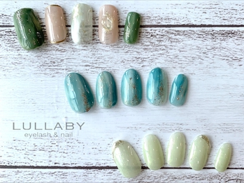 LULLABY SUMMER NAIL☆