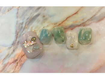 NEW SUMMER FOOT NAIL9720円