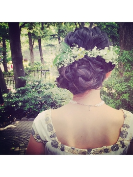 garden★weddinghair
