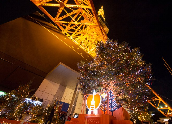 【『東京タワー ウィンターファンタジー 〜オレンジ・イルミネーション〜』】期間:2017年11月2日(木)〜2018年2月28日(水)/東京・神谷町
