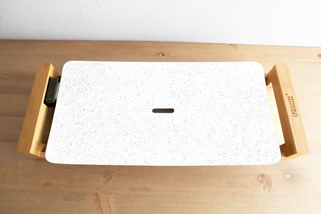ホットプレート プリンセス テーブルグリルストーンホワイト