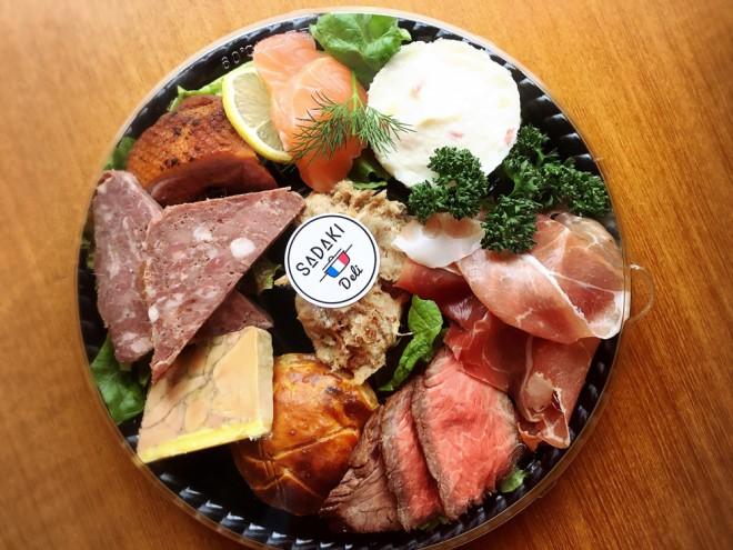目黒不動前にあるフレンチレストラン「sadaki deli(サダキデリ)」のデリ