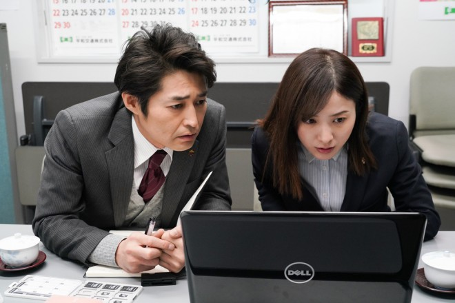 日本テレビ系連続ドラマ『正義のセ』場面カット (C)日本テレビ