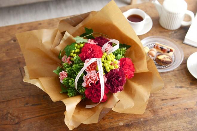母の日にぴったりのお花のプレゼント『Merci メルシー』シリーズ