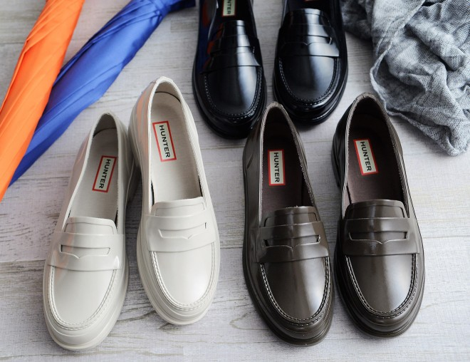 HUNTER ORIGINAL PENNY LOAFER ラバーローファー/HUNTER