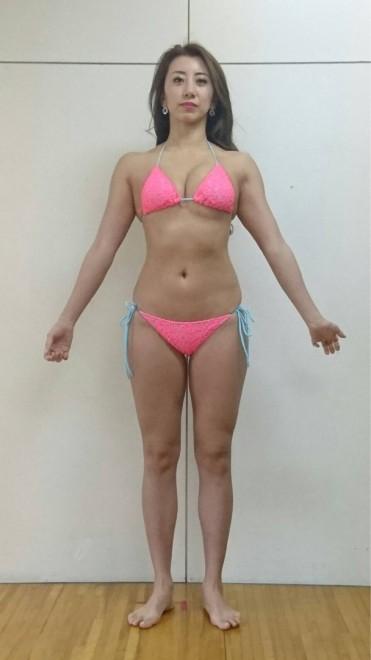 68kg時代の安井。安井友梨Amebaオフィシャルブログより
