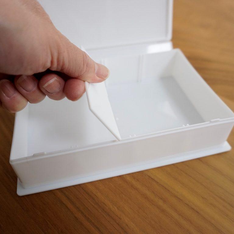 58de773862 仕切りを使わないボックスがあっても、他のボックスの仕切りへと流用できるので便利です。