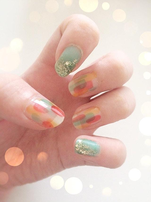 2016☆リキュールネイルで簡単にできる!塗りかけネイル
