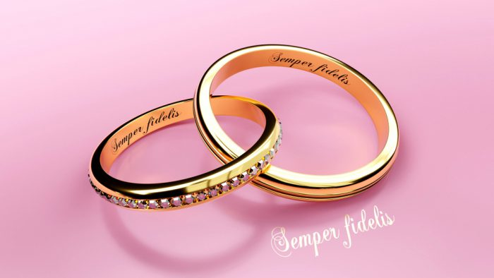 結婚指輪の刻印にユニークはあり?!おすすめ言葉例ランキング!