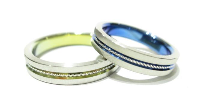 結婚指輪の素材のロゴ5