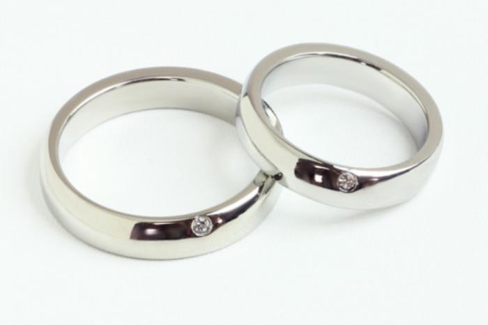 結婚指輪の素材のロゴ6