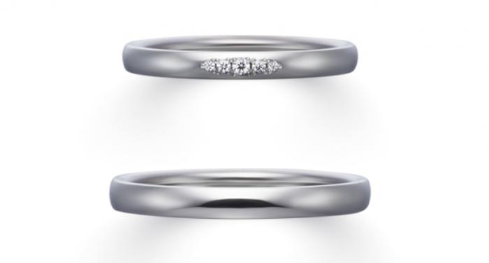 結婚指輪の素材のロゴ4