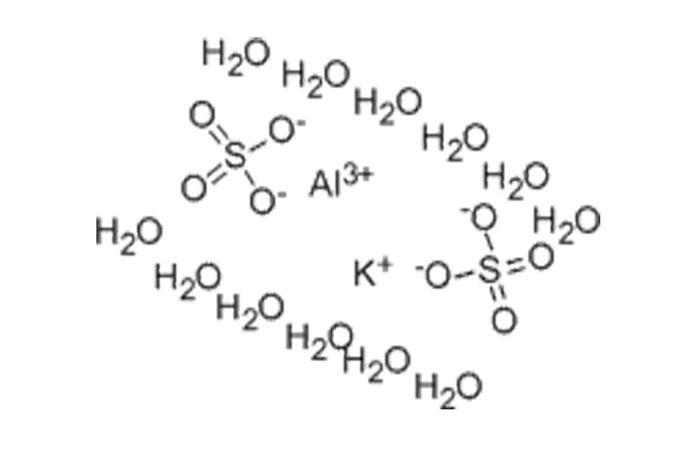 乾燥硫酸アルミニウムカリウム