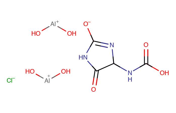 アラントインクロルヒドロキシアルミニウム
