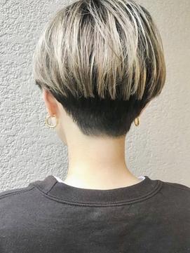 21年夏 どれが好み ショート ツートンのヘアスタイル 髪型 ヘアアレンジ一覧 Biglobe Beauty
