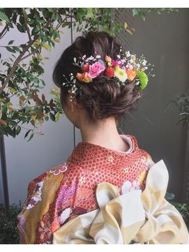 2020年冬】成人式のヘアスタイル・ヘアアレンジ・髪型|BIGLOBE