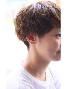 2020年冬】ショートマッシュのヘアスタイル・ヘアアレンジ・髪型