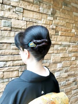2019年秋】黒留袖のヘアスタイル・ヘアアレンジ・髪型|BIGLOBE